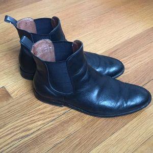 Lands' End Black Boots